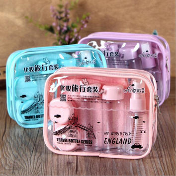 Professional Make-up Tool Hot Deal On Sale Beauty Hot Sale Cosmetic Set Environmental Plastic Sub-bottle [6532362439]