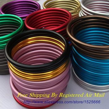 "Free Shipping 10pcs/5pairs 3"" Multiple Colors Available Baby Sling Rings DIY Your best baby wraps"