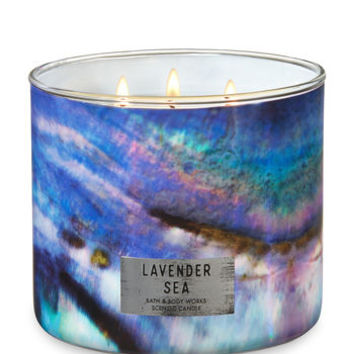 LAVENDER SEA3-Wick Candle