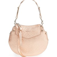 Jimmy Choo Mini Artie Metallic Leather Crossbody Bag | Nordstrom