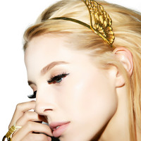 Wings Of A Goddess Headband GOLD One