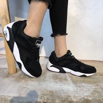 """Puma R698 Block"" Unisex Sport Casual Retro Running Shoes Couple Fashion Thick Bottom Sneakers"