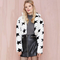 Lovely Pattern Thicken Fur Jacket [6407737604]