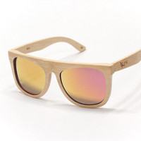 Proof Wood Sunglasses — Bird bamboo fire lens