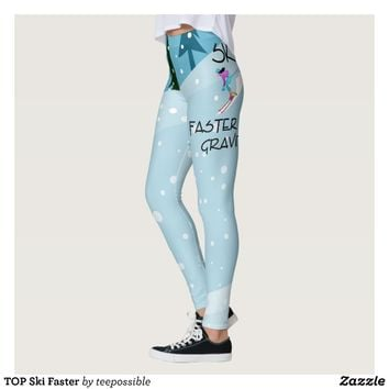 TOP Ski Faster Leggings