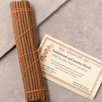 Sandalwood & Jasmine Tibetan Incense