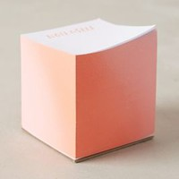 Daily Reminder Sticky Notes by Anthropologie