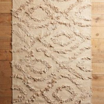 Diamond Shag Rug by Anthropologie