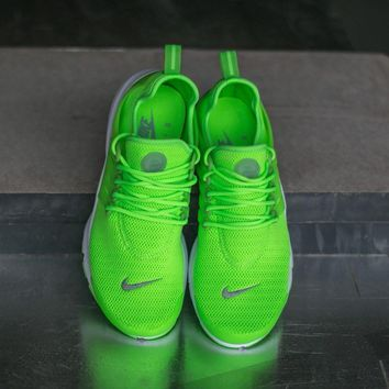 Nike Air Presto Electric Green Sport Casual Shoes Sneakers