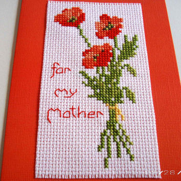 carriestitchbystitch on etsy on wanelo, Greeting card