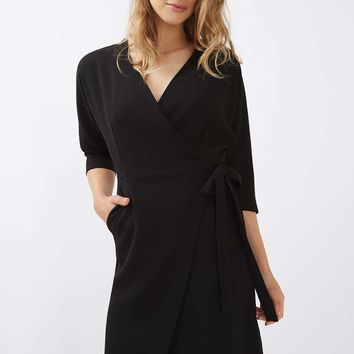 Batwing Wrap Dress | Topshop