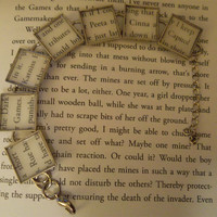 Hunger Games Literary Bracelet - Katniss, Peeta and more