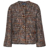 dolce & gabbana - tweed jacket with embellished buttons