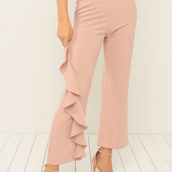 Flamenco Trousers - Blush