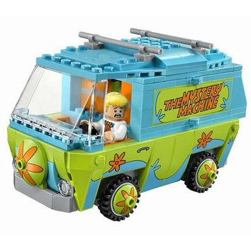 Batman Dark Knight gift Christmas 10430 Legoing Super Heroes Batman P029 Scooby Doo Mystery Bus Machine Building Block Model Toys For Children Compatible Legoings AT_71_6