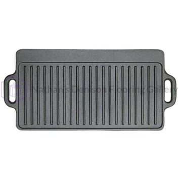 Stansport Cast Iron Griddle - 9inX 20in