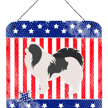 USA Patriotic Japanese Chin Wall or Door Hanging Prints BB3337DS66