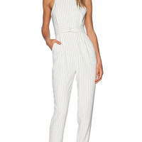 Finders Keepers As You Are Twist Jumpsuit in White