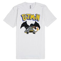 Pokemon - Batmon-Unisex White T-Shirt