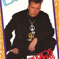 New Kids on the Block Donnie Wahlberg 1989 Poster 22x34