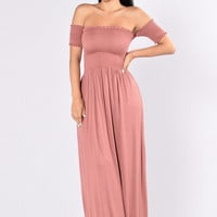 Careful What You Wish For Dress - Mauve