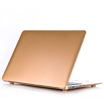 Printing Gold Hard Shell Cover Case For Apple Macbook Air 11 13 Pro 13 15 Retina 12 13 15 For MacBook Air 13 Laptop Case
