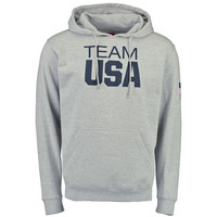 Men's Heathered Gray Team USA Coast To Coast Hoodie