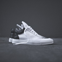 Filling Pieces Low Top Degrade - Black / White