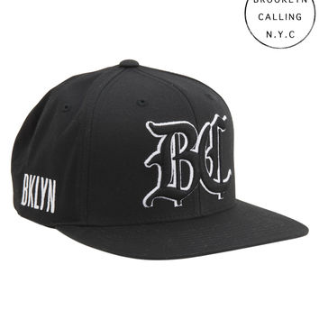 Brooklyn Calling Embroidered BC Adjustable Hat