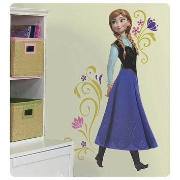 Frozen Anna Peel and Stick Giant Wall Decal