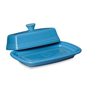 Fiesta® Extra-Large Covered Butter Dish in Peacock