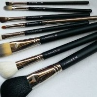MAC Professional 8 Piece Makeup Brush Set and Case