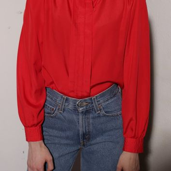 Red Femme Blouse / XS