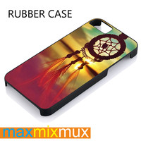 Dream Catcher Rainbow iPhone 4/4S, 5/5S, 5C, 6/6 Plus Series Rubber Case