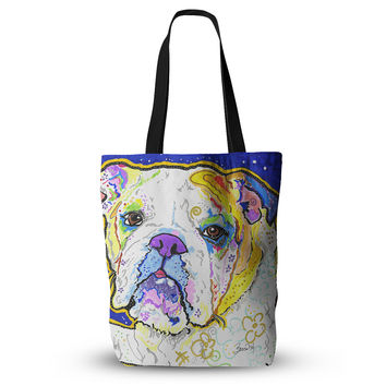 "Rebecca Fischer ""Mavis"" Bull Dog Everything Tote Bag"