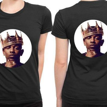 CREYP7V Kendrick Lamar Control Queen 2 Sided Womens T Shirt