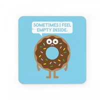 It's Not All Rainbow Sprinkles Coasters - Set of 2