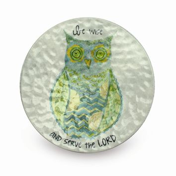 Be Wise & Serve Owl Trinket Dish