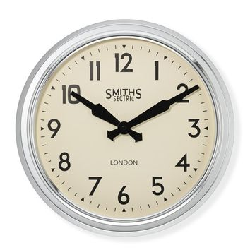 Smiths Retro Wall Clock, Large