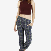 Lazy Sunday Plaid Joggers