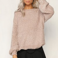 Same Mistakes Knit Sweater