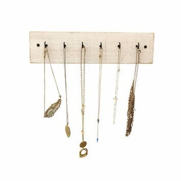 Reclaimed Wood Necklace Holder, Shabby Chic