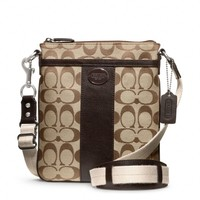Coach :: Legacy Swingpack In Signature Fabric