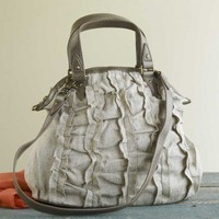 Ruffled Hemp Bag - VivaTerra