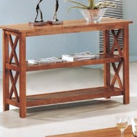 Coaster Occasional Sofa Table, Brown