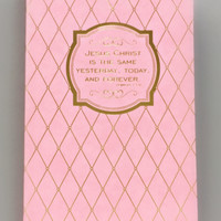 Beautifully Pink Bible Verses Journal