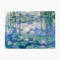 'Water Lilies Claude Monet Fine Art' Wall Tapestry by Vicky Brago-Mitchell®