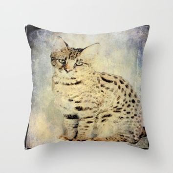 Savanah Throw Pillow by Jessica Ivy