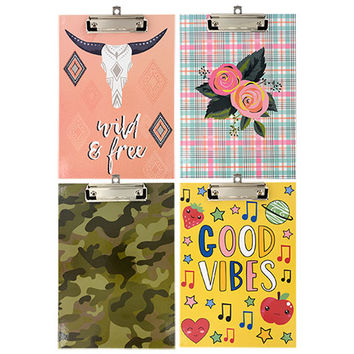 Bulk Jot Printed Fashion Clipboards at DollarTree.com