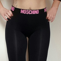 Reworked moschino leggings